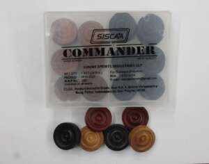 commander thick wooden coins