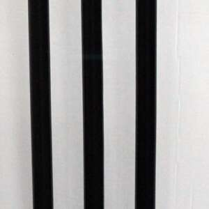 Siscaa Cricket Stumps BLACK min